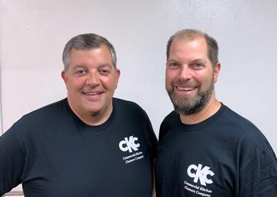 Chuck and Matt Mongiello